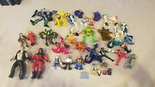 Mixed Lot Of Toy Action Figures - Wrestling The Rock, Gi Joe, Transformers