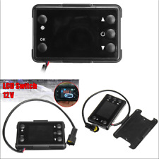 12V LCD Monitor For Car Air Diesel Heater Heater Switch Remote Control Pairing
