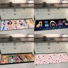 Cute Sailor Moon Velboa Area Rug Carpet Living Room Bedroom Kitchen Mat Non-slip