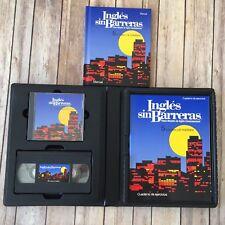 Ingles Sin Barreras 5 La Casa Y El Mobiliario VHS CD Manual Cuaderno Complete TS