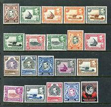 Kenya, Uganda & Tanzania, 66-85, MNH, 1938-1954 Coronation issue SCV-$330 x27739