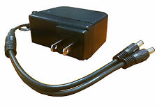 New AC 100-240V to DC 12V Power Supply UL Listed with 1 to 2 Power Splitter