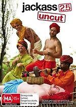 Jackass 2.5 Uncut * NEW DVD * Johnny Knoxville Bam Margera (Region 4 Australia)