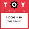 1120931410 Toyota Cover subassy 1120931410, New Genuine OEM Part