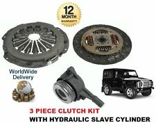 FOR LAND ROVER DEFENDER 2.2 TD4 2011-->ON CLUTCH KIT 3 PIECE + HYDRAULIC BEARING