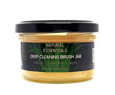 Tarro De Limpieza Cepillo de Maquillaje Natural | Maquillaje Pincel Limpiador | crueldad libre Vegano