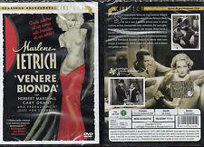 VENERE BIONDA - DVD (NUOVO SIGILLATO) MARLENE DIETRICH