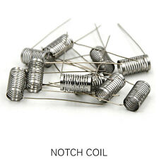 10pcs Notch coil heating wire SS316 stainless steel 0.2ohm for RBA/RTA/RBA tank