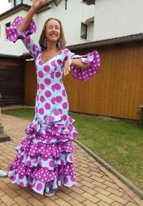 Flamenco Kleid - Größe 38 - Mónica Clavijo-Barroso - aus Tarifa, Portugal