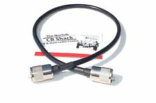 RG8X Patch Lead 50cm Mini8 50 Ohm Coaxial Low Loss 0.5m jumper lead