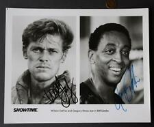 1988 Gregory Hines-Willem DaFoe signed/autographed Off Limits movie photo-RARE!!