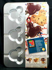 Brand New 1995 Wilton Disney Mickey Mouse Cookie Treat Candy Baking Pan