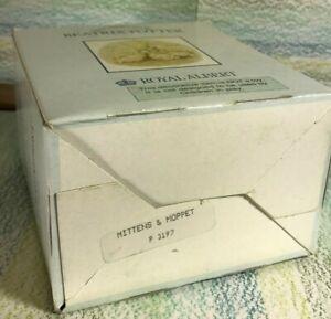 Beatrix Potter one empty Royal Albert Box, Very Good, Mittens & Moppet P3197