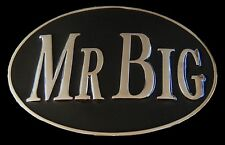 COOL MR BIG BOSS TOP GUN BOY MAN MEN'S OVAL BELT BUCKLE BOUCLE DE CEINTURES