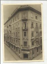 89493 vecchia cartolina  ALBERGO BRANCA DI NAPOLI VIA RICCIARDI 33