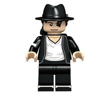 Michael Jackson King of Pop Mini Doll Building Blocks Toy with white t-shirt