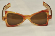 VINTAGE A SUTAIN CAT EYE SUNGLASSES GLASS LENS 1950'S