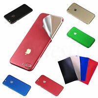 For iPhone  5s/7/ 6 Plus Luxury Film Wrap Decal Skin Sticker PVC Back Case Cover