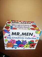 THE COMPLETE COLLECTION 50 BOOKS BOXED MR MEN ROGER HARGREAVES BOX SET 2010 Ed.