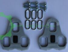 Look Keo Schuhplatten grau 4,5° Pedalplatten Cleats Sohlenplatten ASISTA