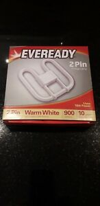 Eveready 2D Low Energy Lamp warm white Bulb 2 Pin GR8 3500K 16W 900LM