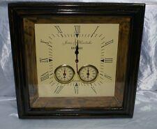 Orologio da parete sveglia 1923 antico idea regalo in legno e ottone arredamento