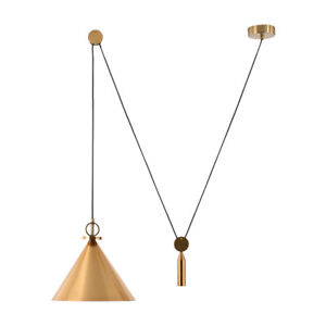 Modern Lifting Pulley Suspension light LED Pendant lamp Chandelier Ceiling light
