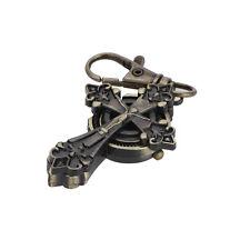 Classic Bronze Gothic Cross Key Ring Quartz Watch Men Boy Lady Women Girl Unisex