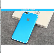 Solid Color Film Wrap Skin Case Sticker PVC Back Cover For iPhone 7 Plus 6 6s 5s