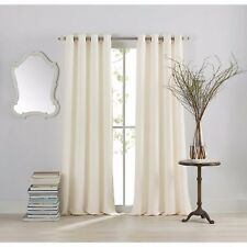 Anthology™ Sienna 84-Inch Window Curtain Panel in White