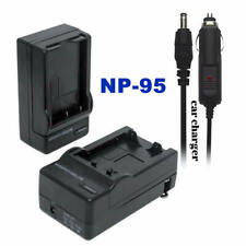 NP-95 Home&car Charger for Fujifilm Finepix X30 X100S X100T X100 F31 X-S1 X70