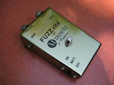 Mosrite Fuzzrite super clean condition nasty sustain and distortion!