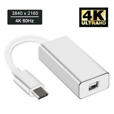 3.1 USB-C Mini DP Adapter Type-C to Mini DisplayPort Converter Thunderbolt 3
