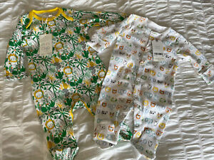 BNWT Unisex baby Sleepsuits Baby grows 0-3 months NEXT & Boots RRP £12