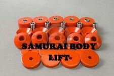 SUZUKI SAMURAI SJ410/413 Bodylift  Höhe Original-Profil  Set = 18 Stücke