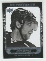 (70774) 2014-15 UPPER DECK PORTRAITS ANZE KOPITAR #P-36