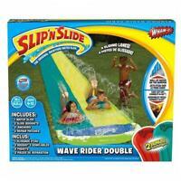 Wham-o 16ft Slip 'N Slide Double Wave Rider Water Slide