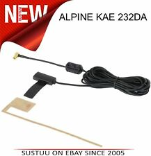 Alpine Kae 232DA Active DAB Radio GLASS MOUNT AERIAL 1 an de garantie