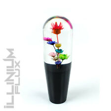 "MULTI COLOR FLOWER SHIFT KNOB FOR AUTOMATIC THROW GEAR SHIFTER 6"" 8X1.25 K49"