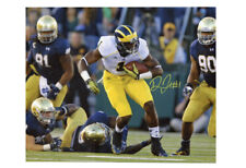 Devin Funchess Autographed 11x14 Photograph - Carry