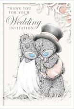 ME TO YOU WEDDING INVITATION THANK YOU CARD TATTY TEDDY BEAR NEW GIFT
