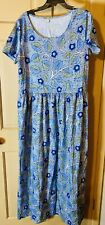 Misslook Women Shift Dress XL Nice Floral  Short Sleeve~~EXC Pre-Owned Condition
