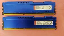 Kingston HyperX FURY 8GB (2x4GB) PC3-12800 DDR3 1600MHz Desktop Memory Ram 1.5V