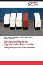 Optimizacion de La Logistica del Transporte (Paperback or Softback)