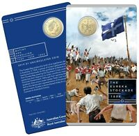2019 Australia $1 UNC Carded Coin Mutiny and Rebellion - THE EUREKA STOCKADE