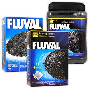 Fluval Activated Carbon Media External Filter 106 206 306 406 FX Aquarium Fish