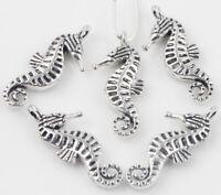 50pcs Spacer Pendant Tibetan Silver Butterfly 15x19x2mm