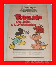 TOPOLINO supplemento IL MESSAGGERO Eta Beta e l'atombrello 31/3/1990
