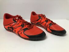 Adidas X Turf Athletic Men's Sneakers Shoes Orange/Black Size 7.5