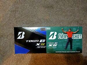 2019 Bridgeston Tour BXS balls .Tiger Woods